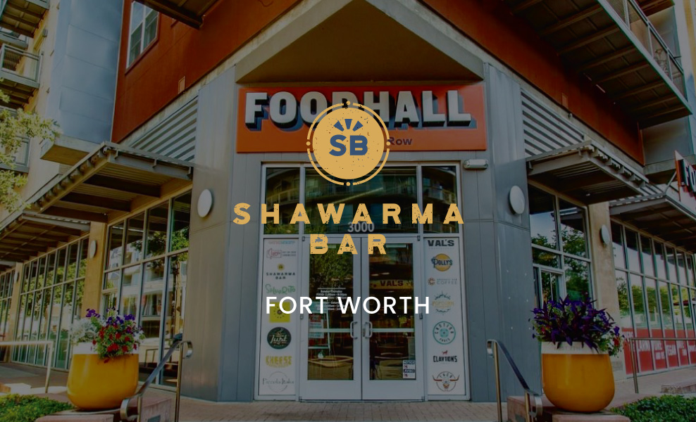 Shawarma Bar Fort Worth Re-Opened Today!