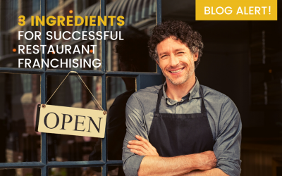 3 Ingredients for Successful Restaurant Franchising